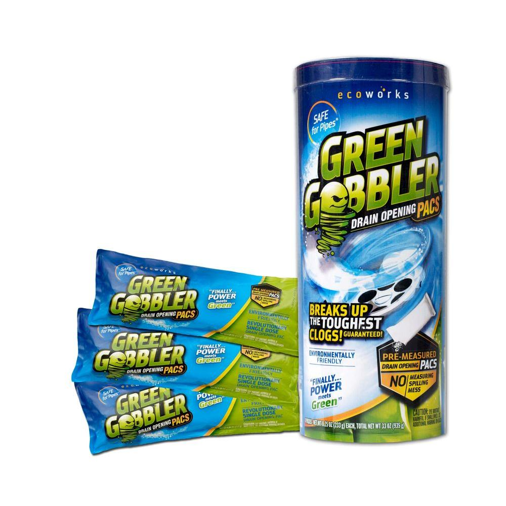 Green gobbler oz draining opening pacs 3 count for Green products for the home