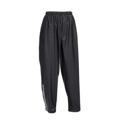 Premium Black Stretch Rain Pants Size Large