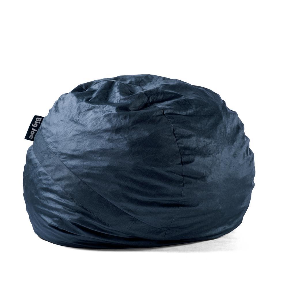 Sensational Large Fuf Shredded Ahhsome Foam Cobalt Lenox Bean Bag Frankydiablos Diy Chair Ideas Frankydiabloscom
