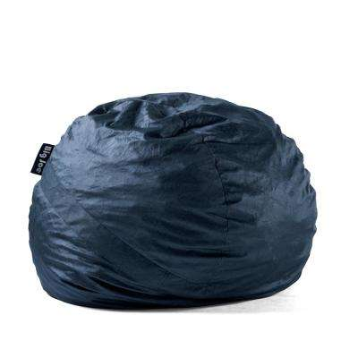 Large FUF Shredded Ahhsome Foam Cobalt Lenox Bean Bag
