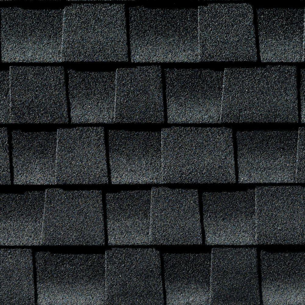 GAF Timberline HDZ Charcoal Laminated High Definition Roof Shingles (33.33 sq. ft. per Bundle) (21-Pieces)