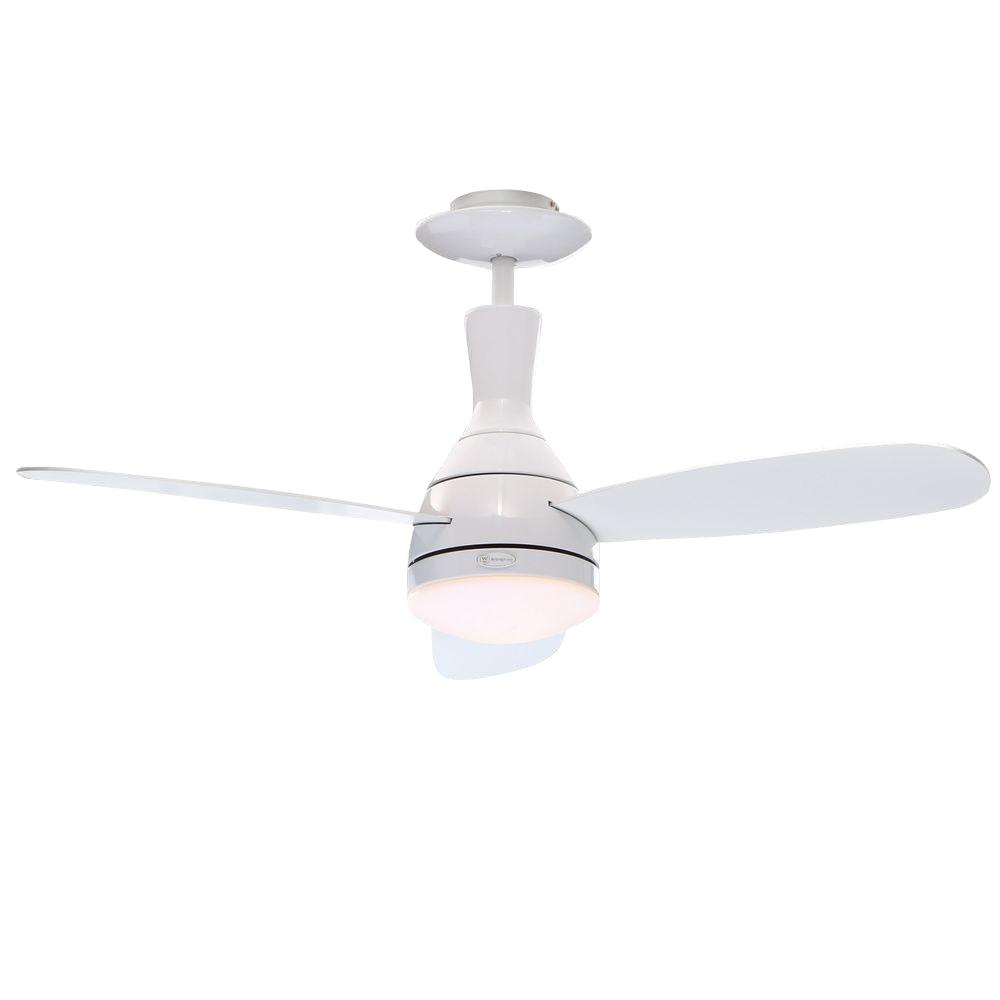 Westinghouse comet 52 in indoor matte black finish ceiling fan indoor white finish ceiling fan aloadofball Gallery