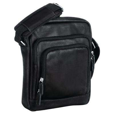 Black Unisex Tote for 7.5 in. Electronic Tablets