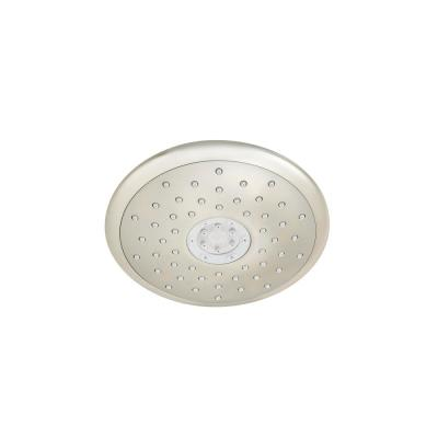Spectra+ 4-Spray 7 in. Single Wall Mount Fixed Adjustable Shower Head in Brushed Nickel