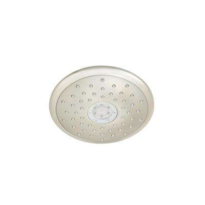 Spectra+ Touch 4-Spray 7 in. Fixed Showerhead with 2.5 GPM in Brushed Nickel
