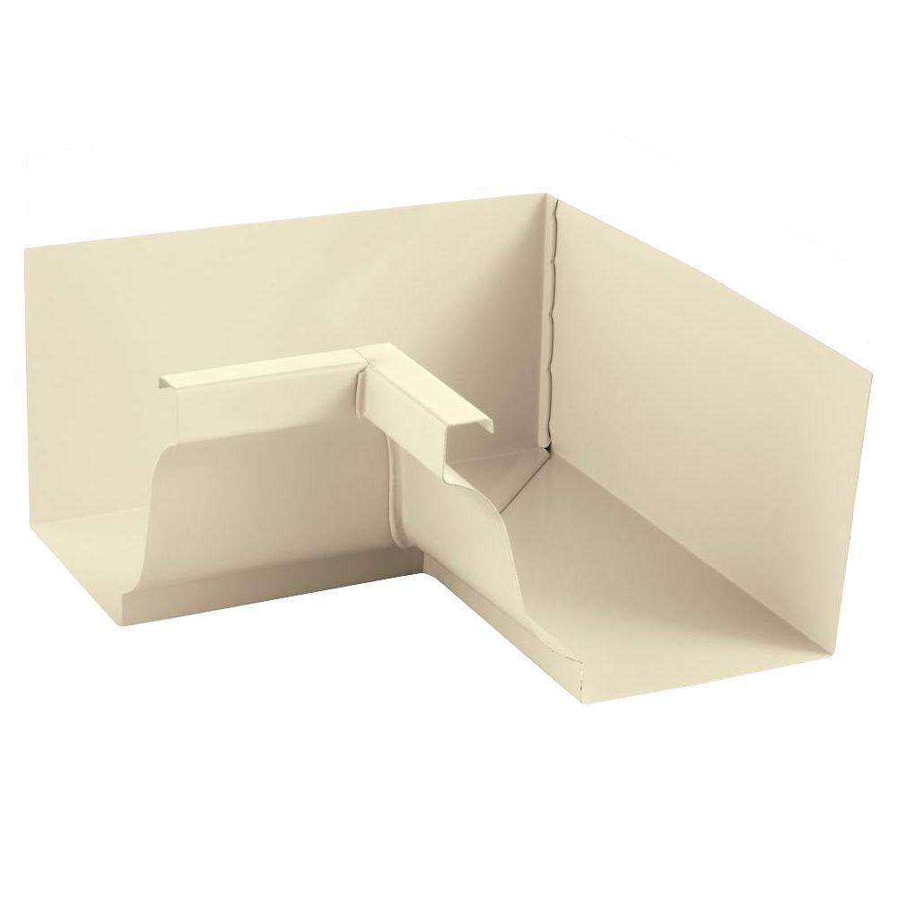PRO 5 in. Almond Aluminum K-Style Inside Box Miter