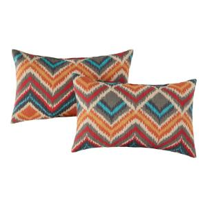 Surreal Outdoor Lumbar Throw Pillow (2-Pack)