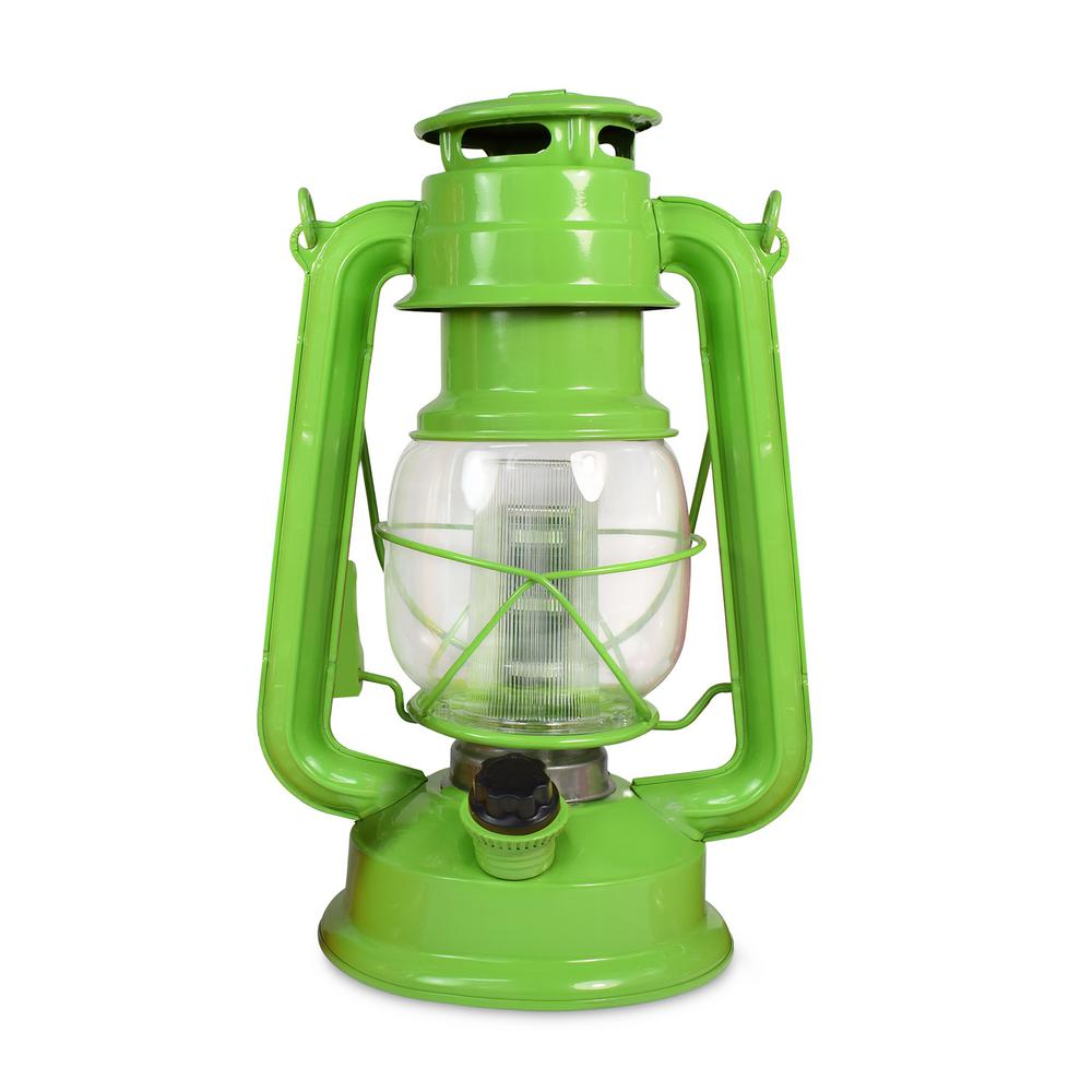 Vintage Tropical Collection Fresh Lime Battery Operated 12 LED Lantern (12-Pack)