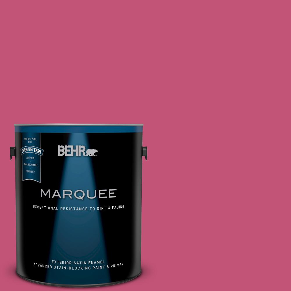 BEHR MARQUEE 1 gal. #T16-02 Pagoda Exterior Satin Enamel Paint and ...
