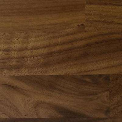 4 in. x 4 in. Wood Countertop in Distressed Black Walnut