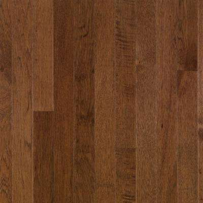 Plymouth Brown Hickory 3/4 in. Thick x 3-1/4 in. Wide x Random Length Solid Hardwood Flooring (22 sq. ft. / case)