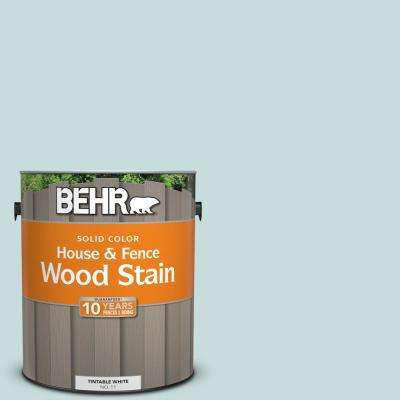 1 gal. #S440-1 Sunken Pool Solid House and Fence Exterior Wood Stain