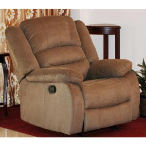 Nadia Contemporary Microfiber Recliner Chair Dark Brown : oakwood microfiber recliner - islam-shia.org