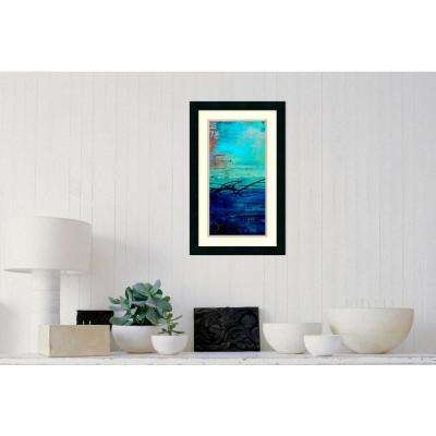 15 in. W x 24 in. H 'Venice Beach I' by Erin Ashley Printed Framed Wall Art