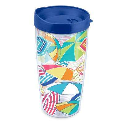 Umbrellas 16 oz. Tumbler