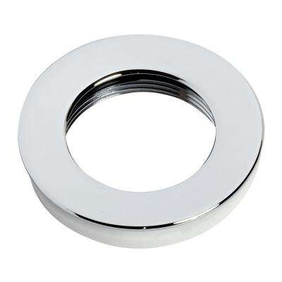 Flange and Washer for Speed Connect Drain, Polished Chrome