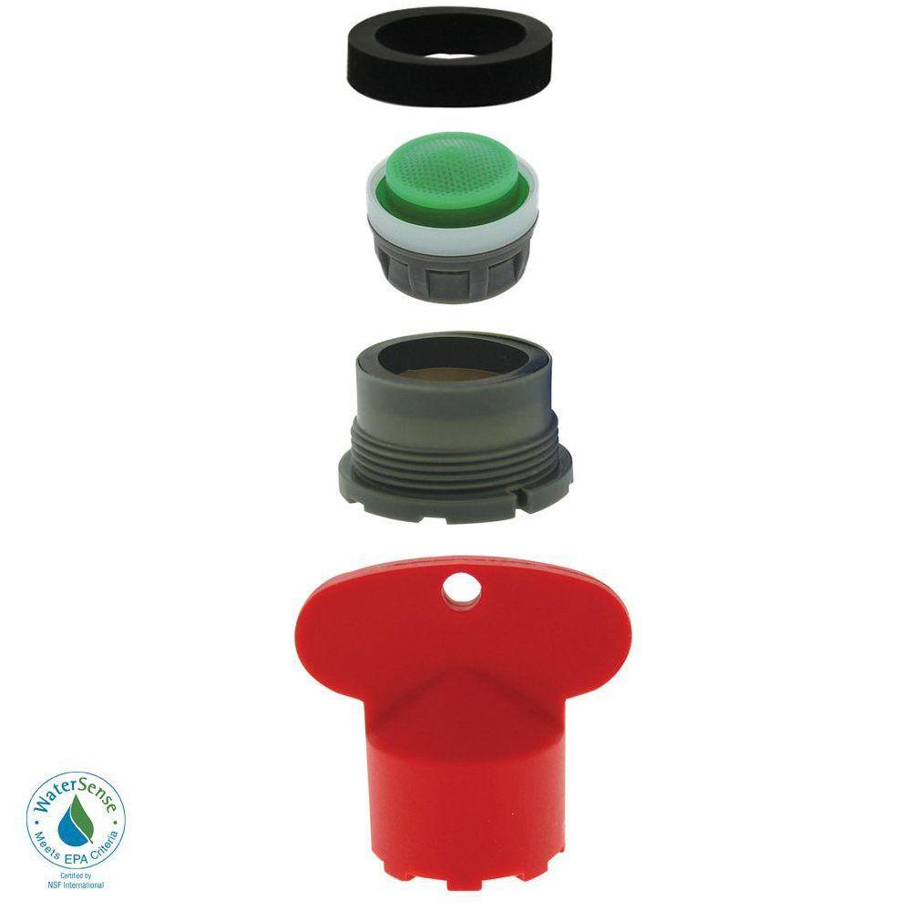 1.5 GPM Delta Cache Water-Saving Aerator Kit with Key