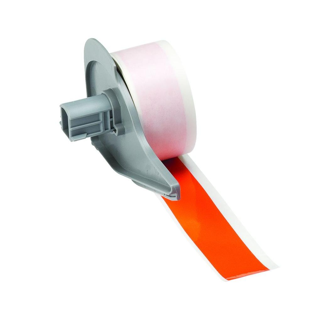 BMP71 B-595 2 in. x 50 ft. Indoor/Outdoor Vinyl Orange Film