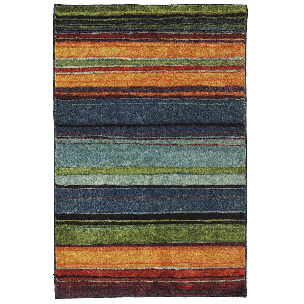 mohawk home rainbow multi 2 ft 6 in x 3 ft 10 in accent rug 269821 the home depot. Black Bedroom Furniture Sets. Home Design Ideas