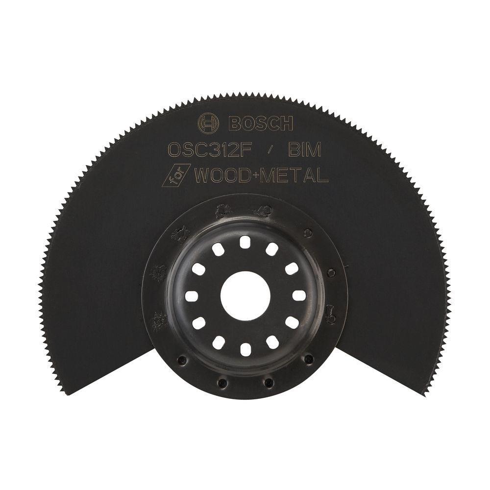 3-1/2 in. x 7/8 in. Bi-Metal Flush Cut Oscillating Tool Blade for Cutting Drywall and Wood