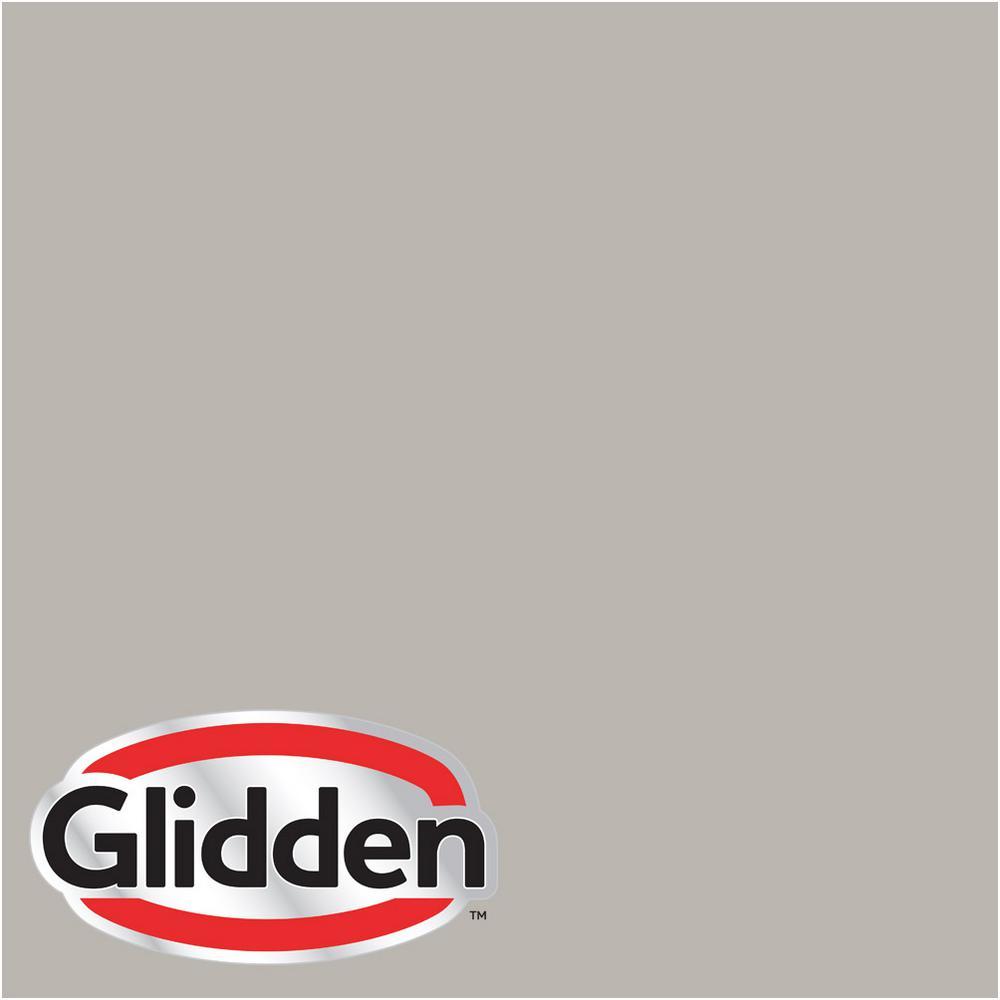Glidden Premium 8 oz. #HDGCN50 Candlestick Silver Satin Interior Paint Sample by Glidden Premium