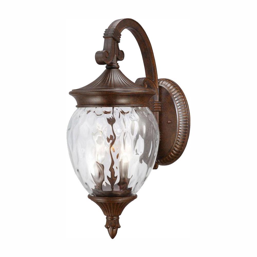 1-Light Prairie Bronze Outdoor Wall Lantern Sconce