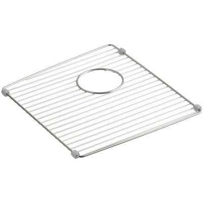 Brookfield 14-7/8 in. x 12-7/8 in. Sink Bowl Rack for K-5846 Brookfield Kitchen Sink in Stainless Steel