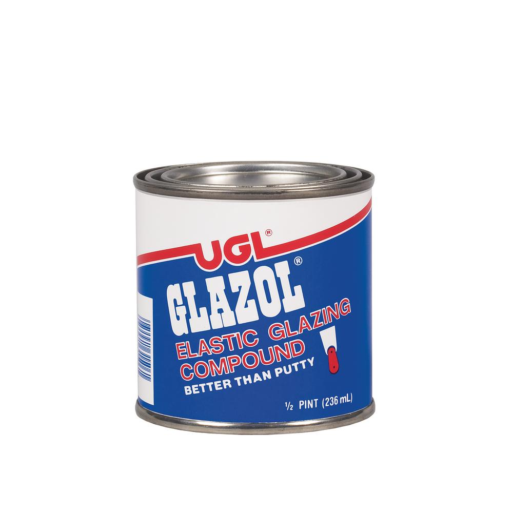 UGL 0.5 pt. Glazol Glazing Compound (2-Pack)