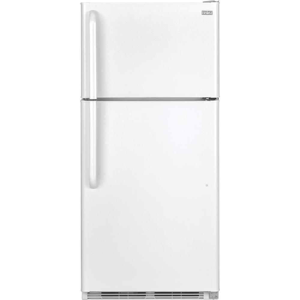 Haier 18.1 cu. ft. Top Freezer Refrigerator in White