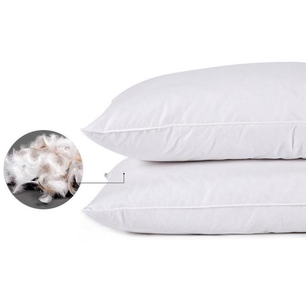 Puredown Feather Queen Pillow (Set of 2)