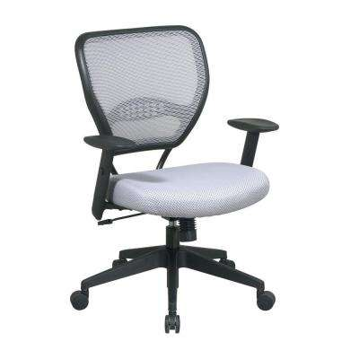 Gray and Black AirGrid Back Office Chair