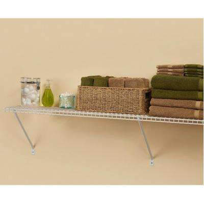 12 in. D x 48 in. W x 12 in. H Ventilated Wire Closet System Shelf Kit