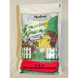 Medina 40 lbs. Growin Green Organic Fertilizer by Medina