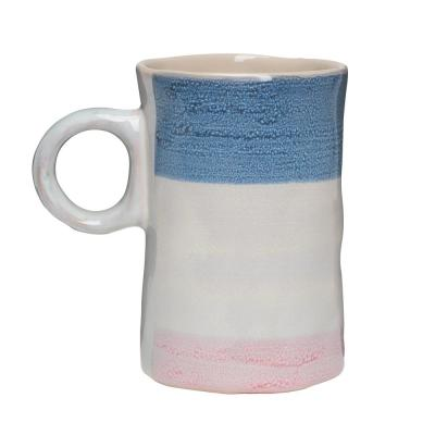Primitive Agate 16 oz. Multicolor Ceramic Coffee Mug