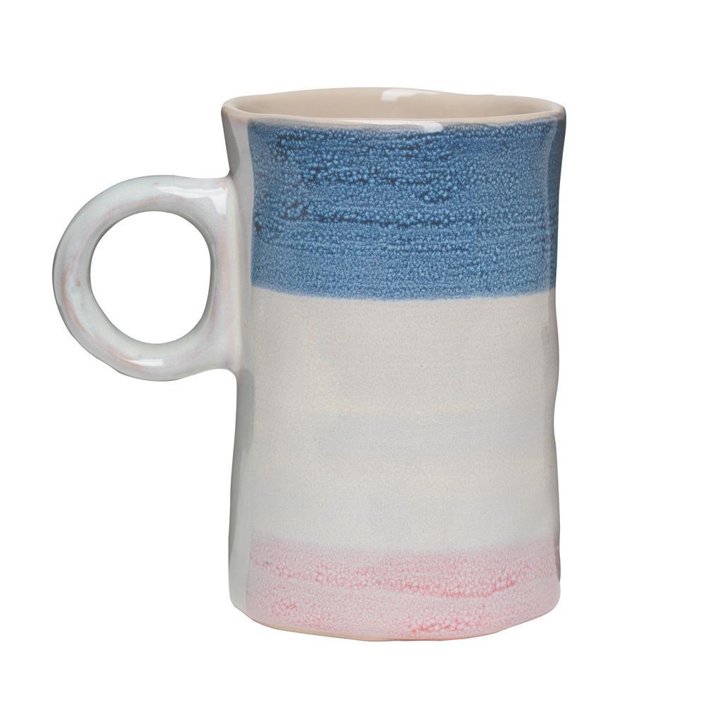 Primitive Agate 16 oz. Multicolor Ceramic Coffee Mug