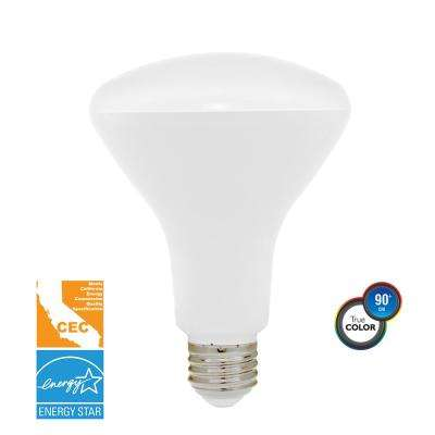 65-Watt Equivalent Soft White BR30 Dimmable LED CEC-Certified Light Bulb