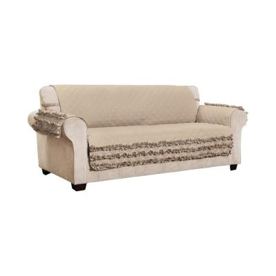 Claremont Ruffled XL Sofa Furniture Cover