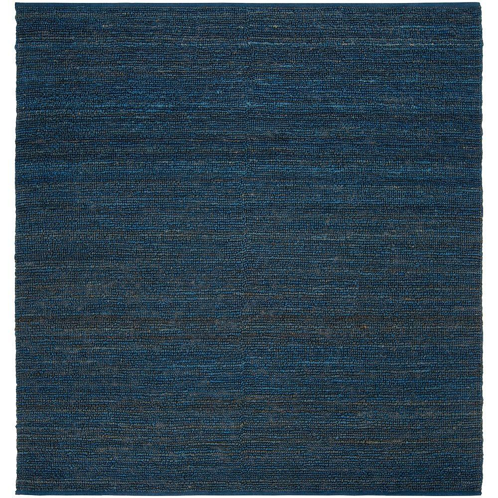 Artistic Weavers Rio Blue 8 ft. x 8 ft. Square Area Rug