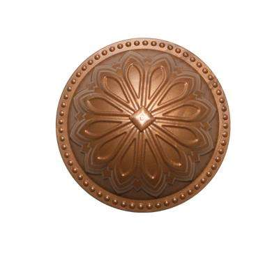 Hermosa Dome Newport Copper 5.25 in. x 5.25 in. Cleanout Cover