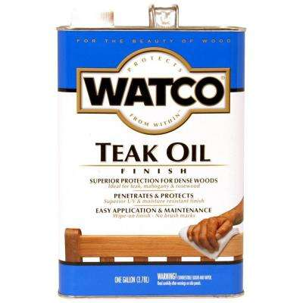 1 gal. Clear Matte 350 VOC Teak Oil (2-Pack)