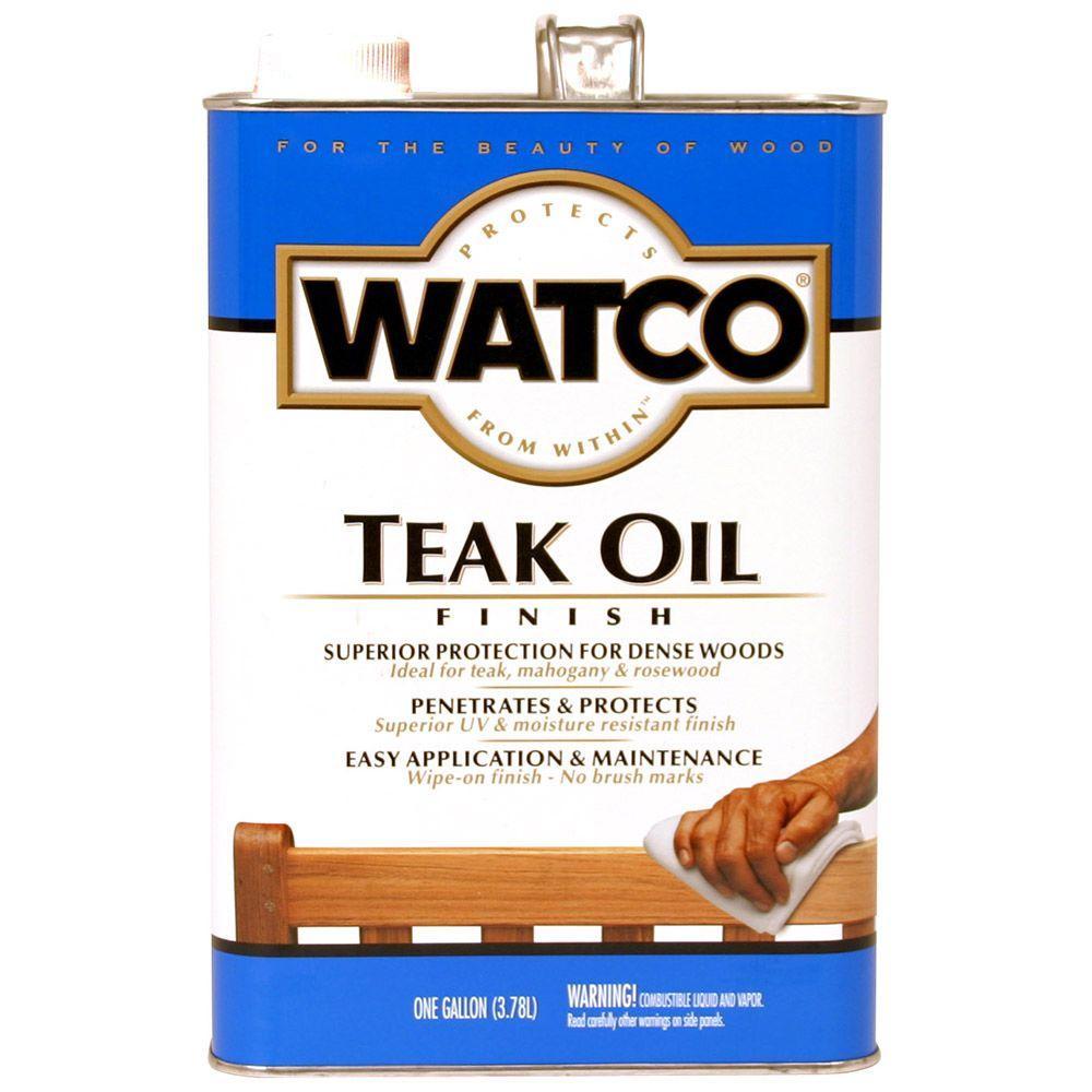 1 gal. Clear Matte 350 VOC Teak Oil (Case of 2)
