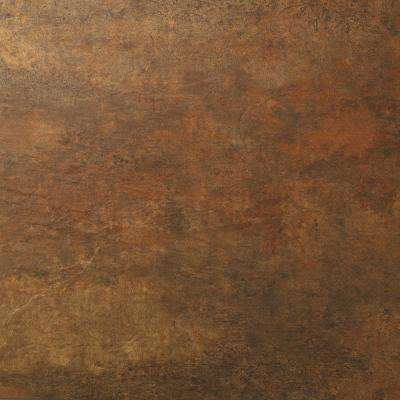 12 in. x 18 in. x 0.118 in. Copper Slate Luxury Vinyl Tile (36 sq. ft. / case)