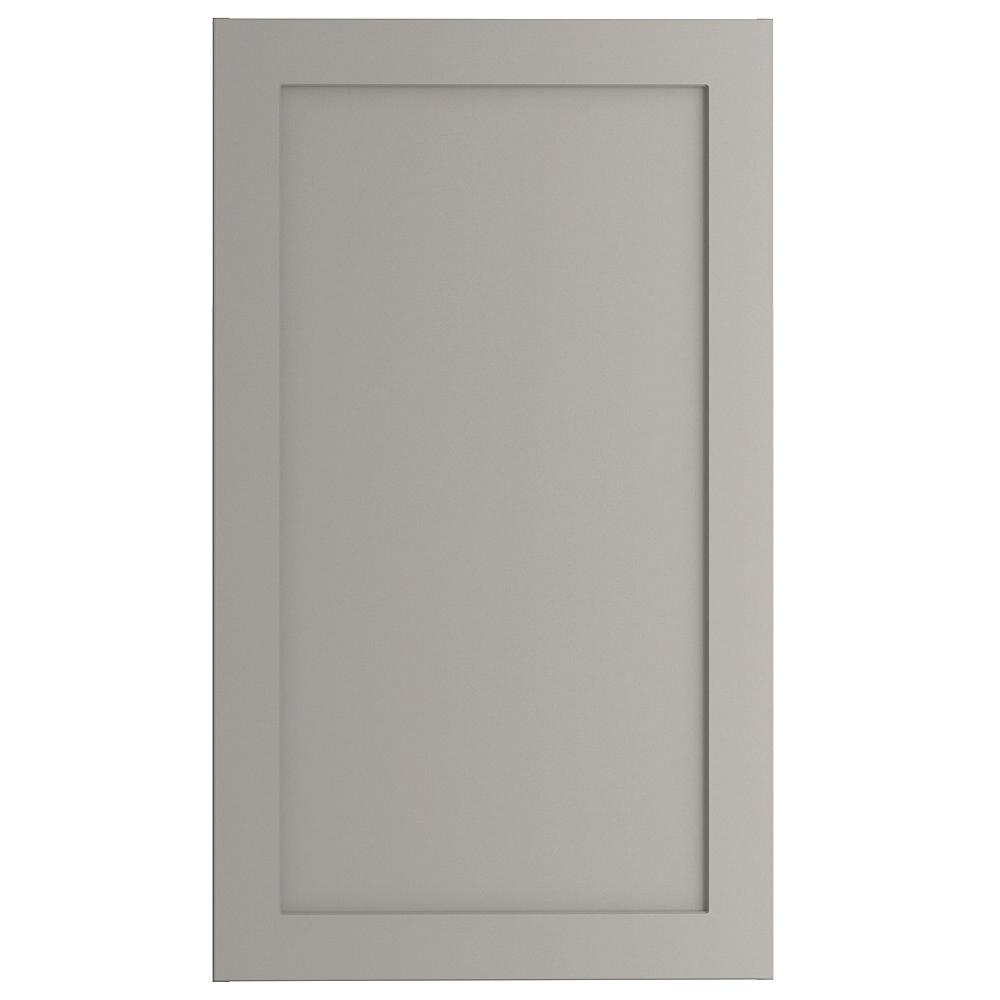 Cambridge Assembled 21x36x12.5 in. Wall Cabinet in Gray
