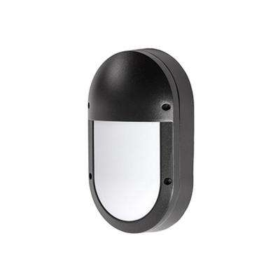 Oxford Black Outdoor Integrated LED Wall Mount Sconce