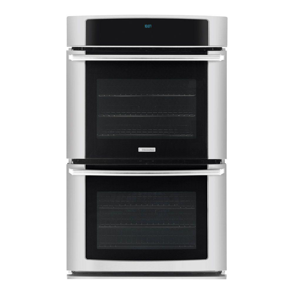 Electrolux Wave-Touch 27 in. Double Electric Wall Oven Self-Cleaning with Convection in Stainless Steel-DISCONTINUED