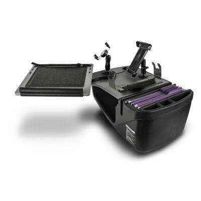 Reach Desk Front Seat with Built-in Power Inverter, Printer Stand, X-Grip Phone Mount and iPad/Tablet Mount