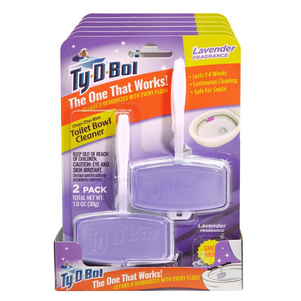 1 oz. Lavender Fragrance Toilet Bowl Cleaning Gel (6-Pack)