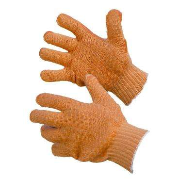 Large Knit Cotton Gloves