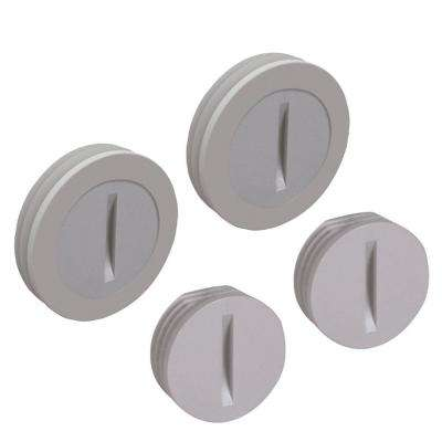 Non-Metallic Weatherproof Closure Plugs (2 1/2 in. and 2 3/4 in.)