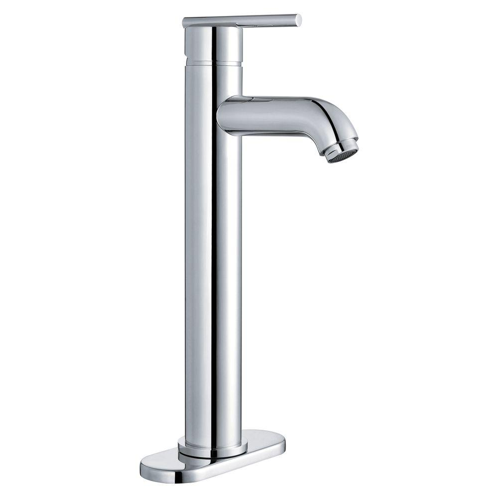 Yosemite Home Decor 4 in. Centerset 1-Handle Lavatory Faucet in Polished Chrome with Pop-Up Drain